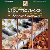 Antonio Vivaldi: The Four Seasons, Transc. for Piano by S. Sangiovanni / Scipione Sangiovanni, piano