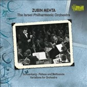 Schoenberg: Pelleas und Melisande; Variations for Orchestra / Israel PO; Mehta