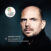 Vivaldi: The Four Seasons, Sonata in E Flat minor, Concertos in G Minor and B Flat Major / Jaap van Zweden, Violin; Combattimento Consort Amsterdam, Jan Willem de Vriend