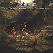 Mendelssohn: Piano Concerto in A minor, Violin Concerto in D minor / Kegel, Stöckigt, et al