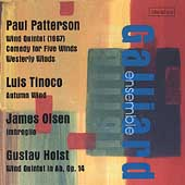 Patterson, Tinoco, Olsen, Holst / Galliard Ensemble