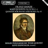 Danzi: Wind Quintets Vol 2 / Berlin Phil Wind Quintet