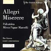 The Sixteen Edition - Allegri: Miserere;  Palestrina, et al