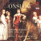 SCENE  Onslow: String Quintets / Quintett Momento Musicale