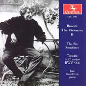 Busoni The Visionary Vol 2 - Six Sonatinas / Slotchiver