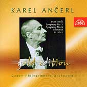 Ancerl Gold Edition 34 - Martinu: Symphonies / Czech PO