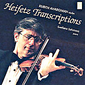 Heifetz Transcriptions / Ruben Aharonian, Svetlana Safonova
