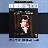 Historical - Bach: French Suite no 5, etc / András Schiff