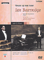 Schubert / Voices Of Our Time: Ian Bostridge [DVD]
