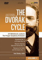 The Dvorak Cycle / Belohlavek/The Prague SO / Symphony No. 7, Slavonic Dances [DVD]