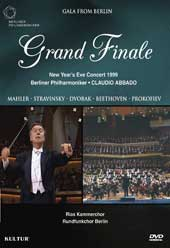 Gala From Berlin: Grand Finale / Abbado, Berlin Philharmonic [DVD]