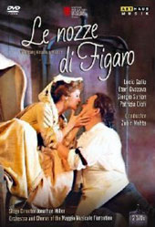 Mozart: The Marriage of Figaro / Lucio Gallo, Eteri Gvazava, Patrizia Ciofi, Giorgio Surian. Zubin Mehta [2 DVD]