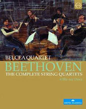 Beethoven: The Complete String Quartets / Belcea Quartet  [4 Blu-ray]