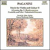 Paganini: Music For Violin And Guitar