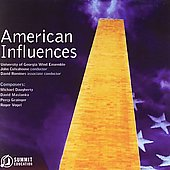 American Influences / University of Georgia Wind Symphony