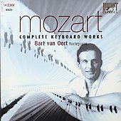 Mozart: Complete Keyboard Works / Bart van Oort