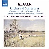 Elgar: Orchestral Minatures / Judd, New Zealand SO