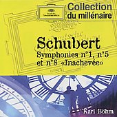 Schubert: Symphonies Nos. 1, 5 & 8 'unfinished'