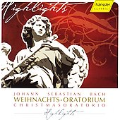 Bach: Christmas Oratorio Highlights / Rilling, G&auml;chinger