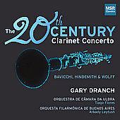The 20th Century Clarinet Concerto / Gary Dranch, et al