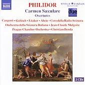 Philidor: Carmen Saeculare, etc / Cangemi, Gubisch, et al